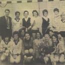 Dames Senioren 1 kampioen 1976