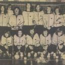 Heren Senioren 1 kampioen 1975