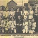 Meisjes Pupillen kampioen 1977