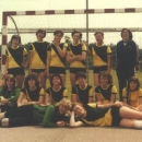 Dames Junioren 1 kampioen veldcompetitie 1979