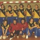 Heren Senioren 1 kampioen zaalcompetitie 1979