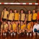 Dames Senioren 3 kampioen zaalcompetitie 1982