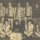 Dames Junioren kampioen zaalcompetitie 1982