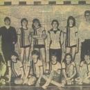 Meisjes Pupillen 1 kampioen zaalcompetitie 1982