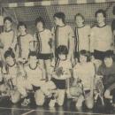 Jongens Aspiranten kampioen zaalcompetitie 1983