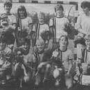 Meisjes Pupillen 1 kampioen veldcompetitie 1984