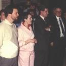 Huldiging in 1985 voor leden van het eerste uur