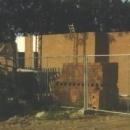 Bouw clubhuis in 1986