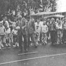 Opening verhard veld in 1990