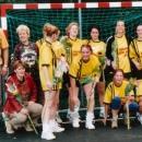 Dames Senioren kampioen veldcompetitie 2001